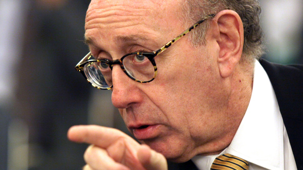 Kenneth Feinberg, pictured in 2014 at a Senate Commerce subcommittee hearing in the wake of GM ignition switch recalls, has been appointed to oversee talks between Bayer