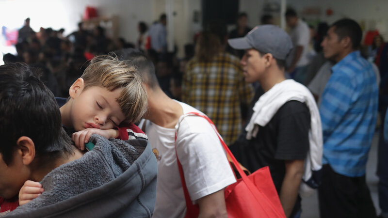 Thank God We're OK ' Migrants Tell Of Conditions In A Texas