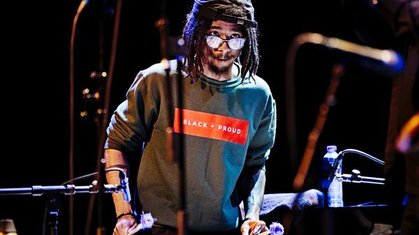 Joel Ross performs at Lantaren Venster on May 2, in Rotterdam, Netherlands.