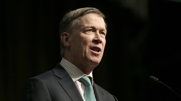 """Democratic presidential candidate and former Colorado Gov. John Hickenlooper says Democrats need to focus on """"kitchen table issues"""" like jobs in order to beat President Trump in 2020."""