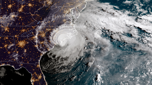 Hurricane Florence made landfall in North Carolina on Sept. 14, 2018. The National Oceanic and Atmospheric Administration forecasts that two to four major hurricanes will form in the Atlantic during the 2019 hurricane season, which begins June 1.
