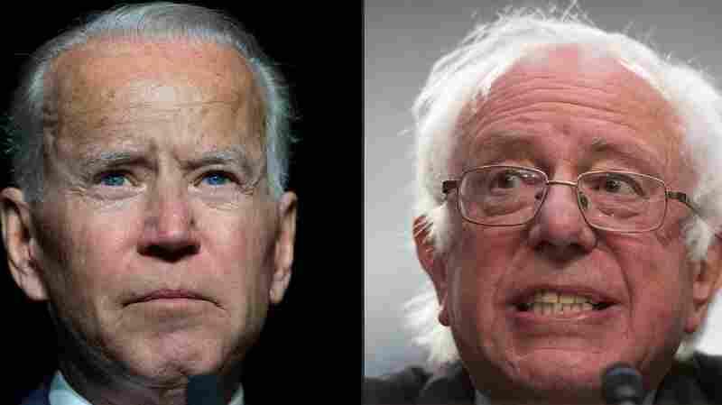 Biden, Sanders Highlight Familiar Split In Democratic Party