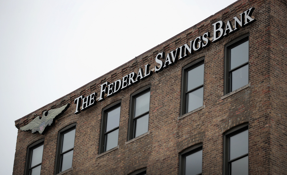 Stephen Calk, chairman of the Federal Savings Bank in Chicago, has been charged in an alleged bribery scheme to secure a spot in the Trump administration. (Scott Olson/Getty Images)