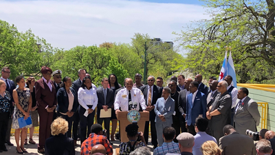In First Anti-Violence Initiative As Mayor, Lightfoot Touts Community Coordination