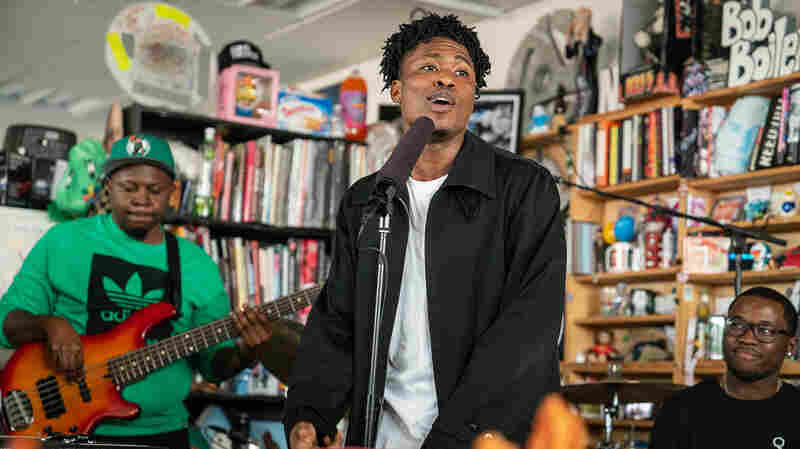 Lucky Daye: Tiny Desk Concert