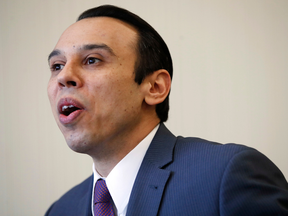 Roger Severino, director of the Office for Civil Rights, announced Friday a new proposed rule rolling back anti-discrimination protections for transgender patients. Those protections had been written in 2016 but enjoined in court. (Jacquelyn Martin/AP)
