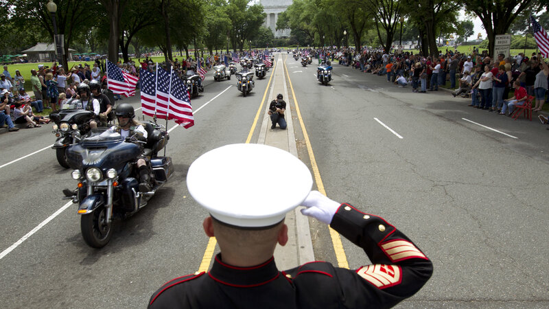 Rolling Thunder Motorcyclists Will Make Their Final Ride