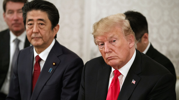 In Trump's Japan Visit, Golf, Sumo Wrestling — And A Raft Of Policy Differences