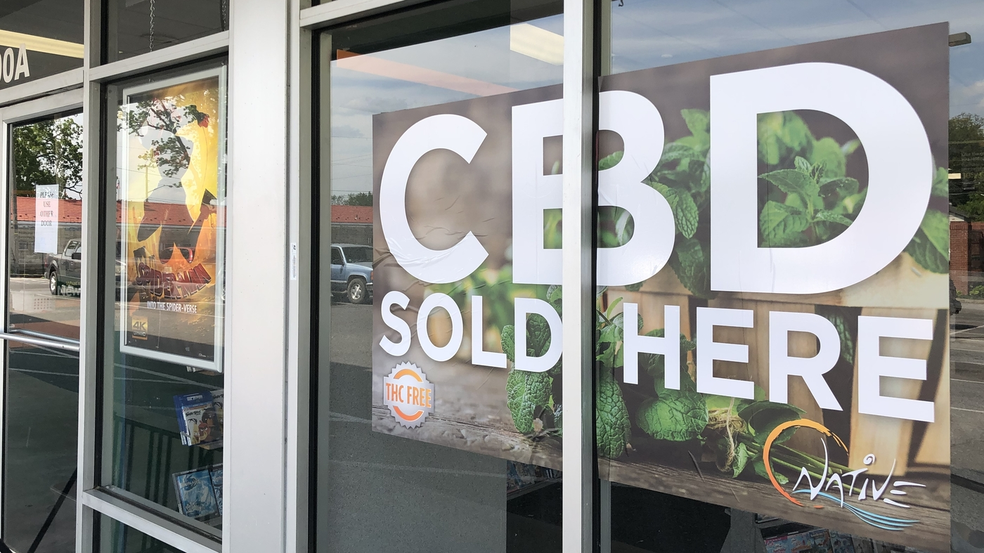 CBD edibles sold here