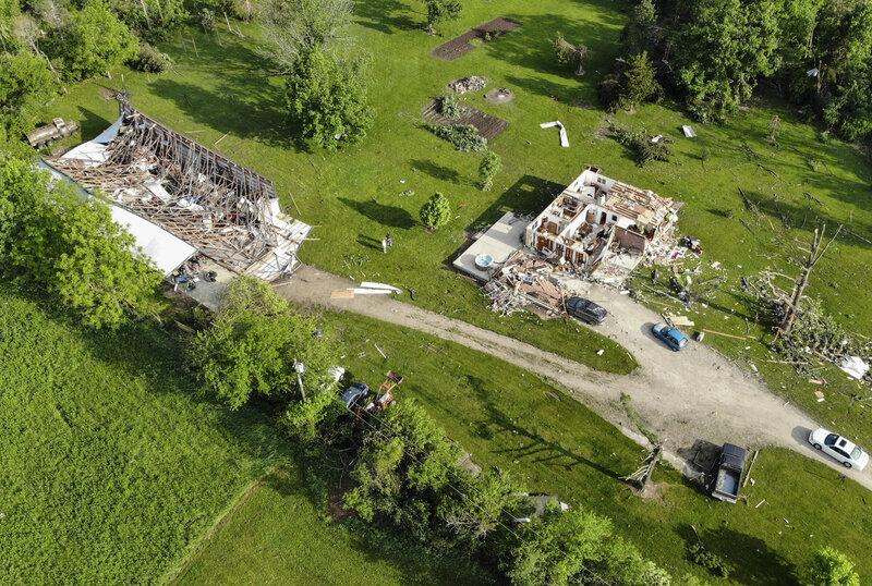 Tornado Outbreak' Devastates Ohio Communities With Winds Up