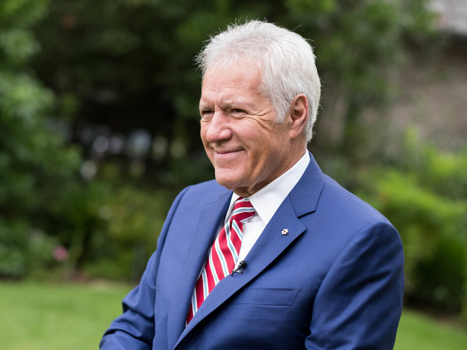 """Alex Trebek said in an interview with <em>People</em> magazine that his stage 4 pancreatic cancer is in """"near remission."""" (Emma McIntyre/Getty Images)"""