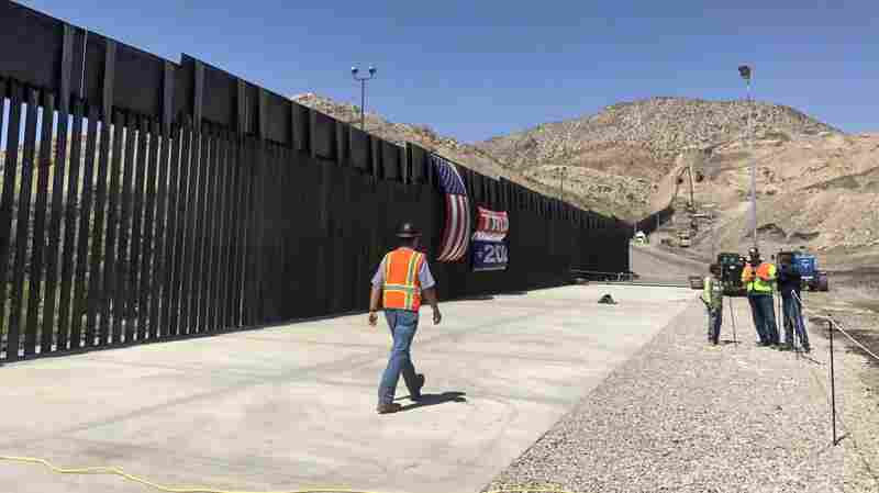 Privately Funded Border Wall Near Completion In New Mexico