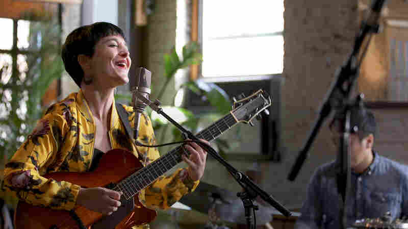 Chilean Singer-Songwriter Camila Meza Sets A Brooklyn Loft Aglow