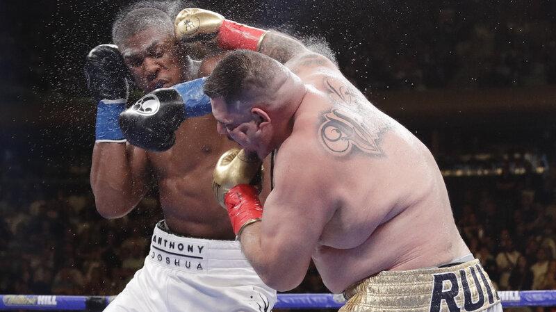 Andy Ruiz Jr  Is Boxing's Heavyweight Champion : NPR