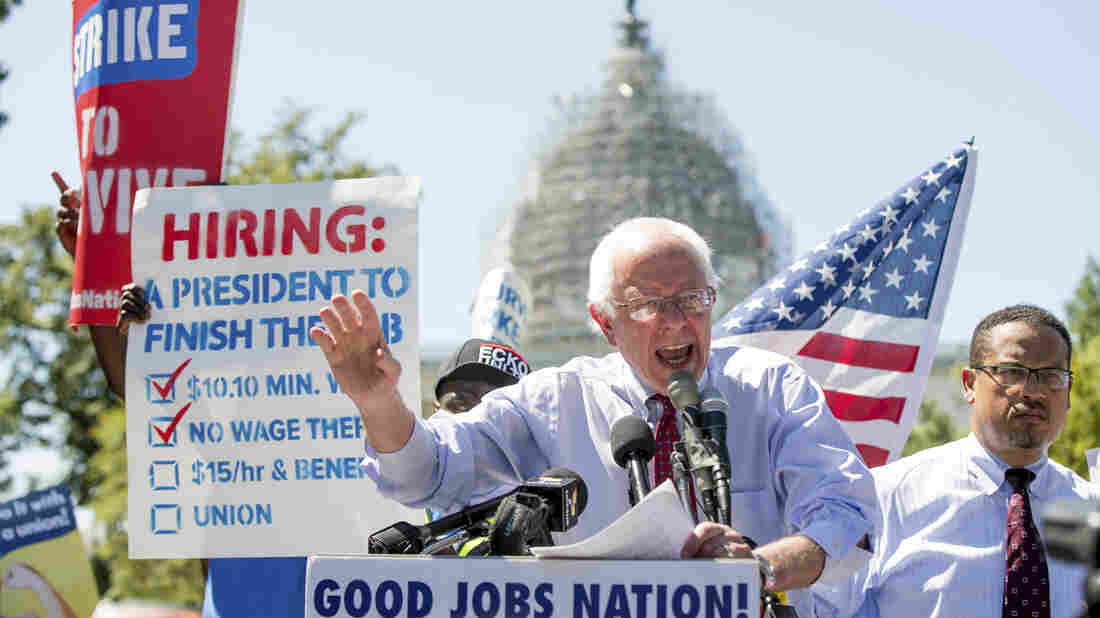 Bernie Sanders: Walmart pays 'starvation wages' to workers