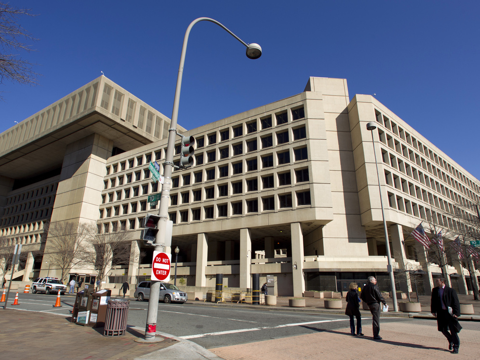 University administrators say the FBI, whose headquarters are shown above, has urged them to monitor some Chinese students and scholars. (Manuel Balce Ceneta/AP)