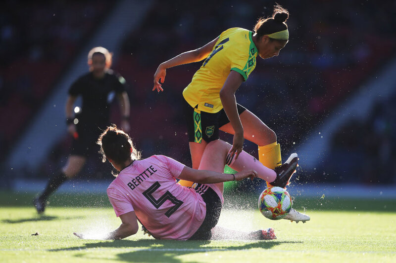 best website fd762 1f77b Jamaican Women's Historic Journey To World Cup, With A Boost ...