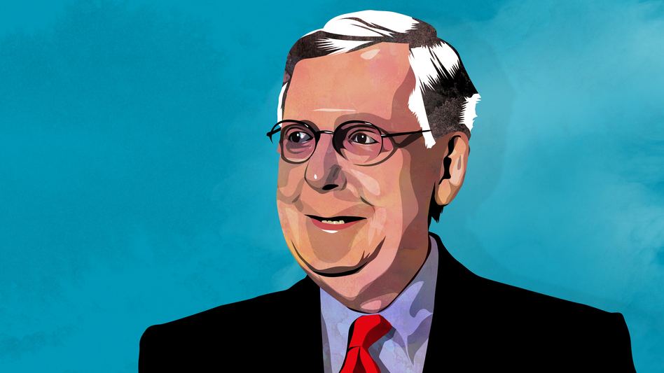 The disclosure of millions of once-secret tobacco industry documents — which are now readily searchable online — has opened a window into Senate Majority Leader Mitch McConnell's interactions with tobacco executives and lobbyists. (Alvaro Tapia Hidalgo for NPR)