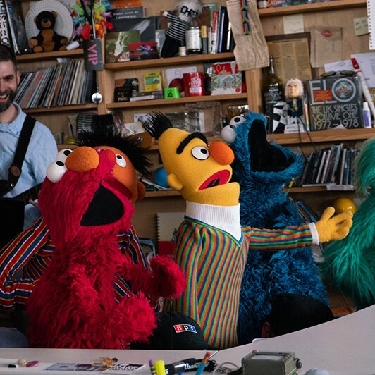 How The Music Of 'Sesame Street' Keeps Up With The Times : NPR