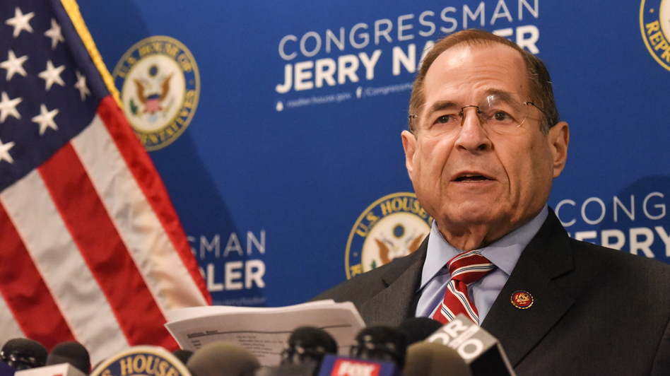 House Judiciary Committee Chairman Jerry Nadler, D-N.Y., says the Justice Department has agreed to release some information related to the special counsel report on Russian election interference. (Stephanie Keith/Getty Images)