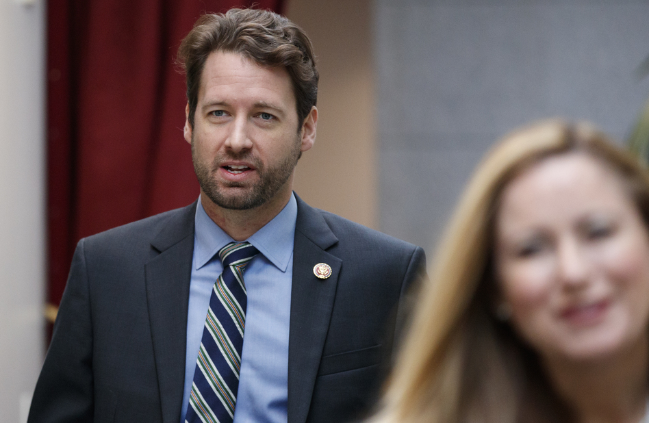 Rep. Joe Cunningham, D-S.C., pictured in January, opposes a plan to increase lawmakers' salaries, saying that's not what his constituents sent him to Washington to do. (Carolyn Kaster/AP)