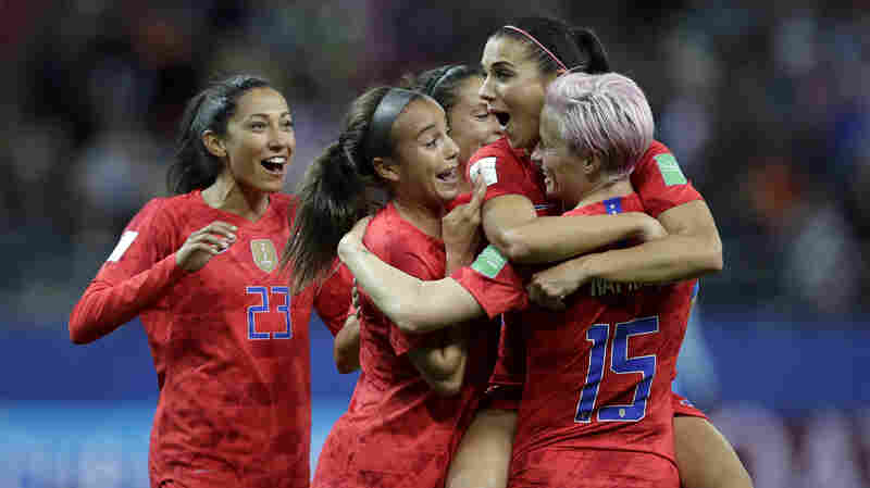 U.S. Women's Soccer Sets 13-0 FIFA Record In First Game, Beating Thailand