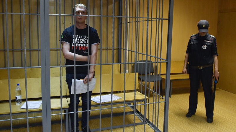 7ac5a021683 Russian Journalist Ivan Golunov Is Freed; Ministry Orders Inquiry Into Drug  Charges