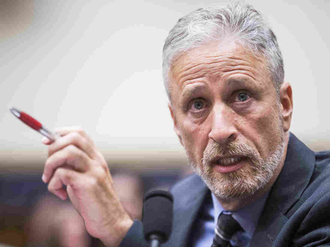 Jon Stewart Blasts Lawmakers In Hearing For Sept. 11 Victim Compensation Fund class=