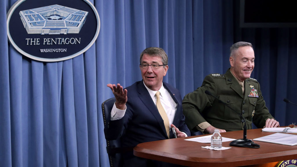 Former Defense Secretary Ash Carter On 'The Five-Sided Box'