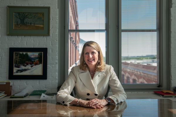 U.S. Forest Service Chief Vicki Christiansen, shown in her office in Washington, D.C., says the proposed rule changes are about efficiency, not shortcuts.