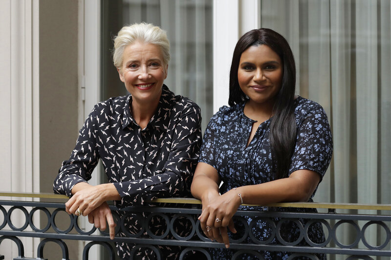 Late Night Stars Emma Thompson In A Role Mindy Kaling Wrote Just For Her Npr