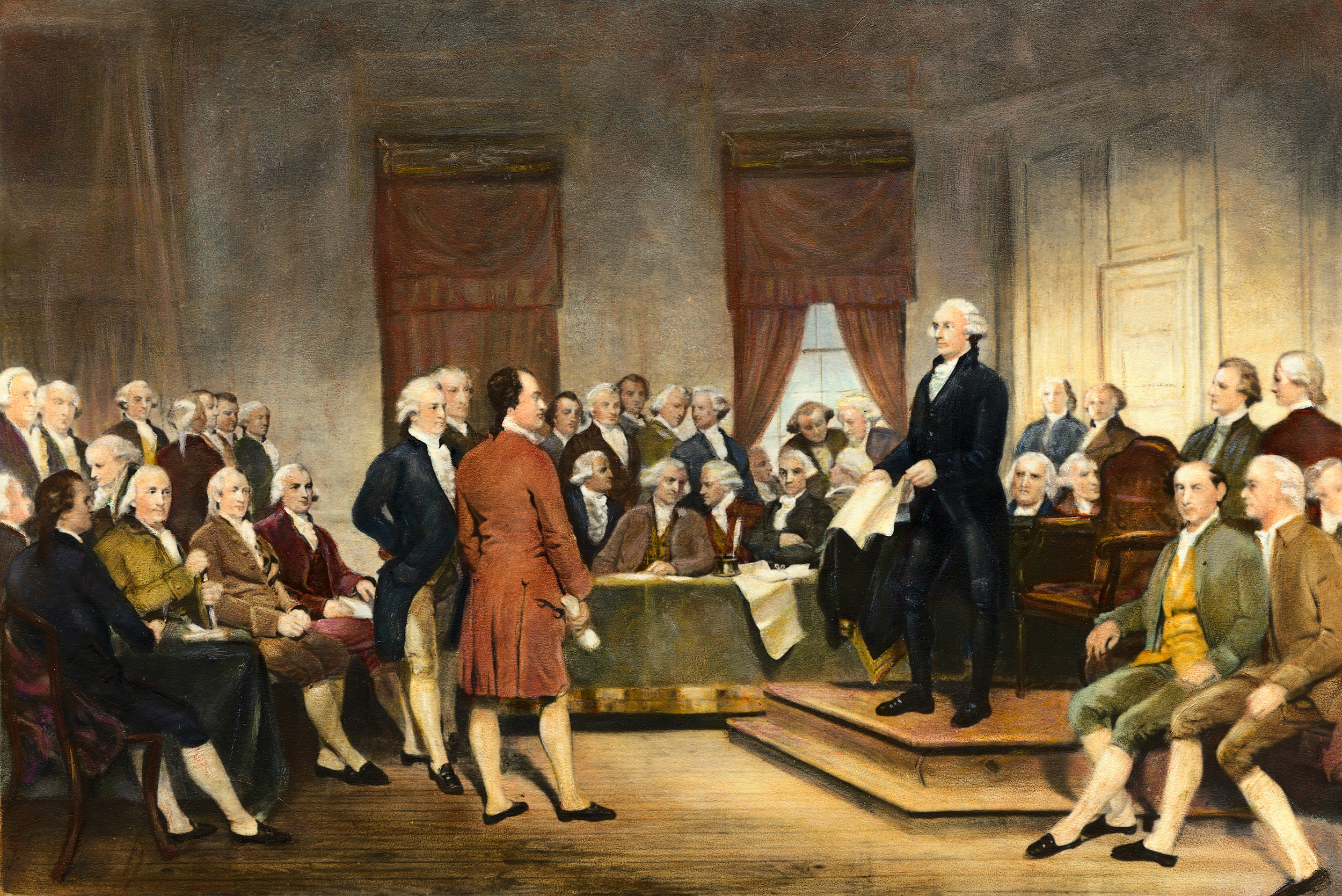 Fear Of Foreign Interference In U.S. Elections Dates From Nation's Founding