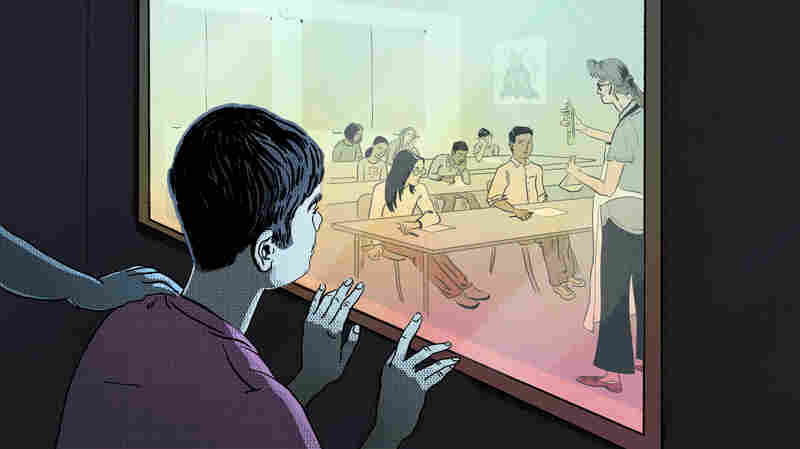 How Some Schools Restrain Or Seclude Students: A Look At A Controversial Practice
