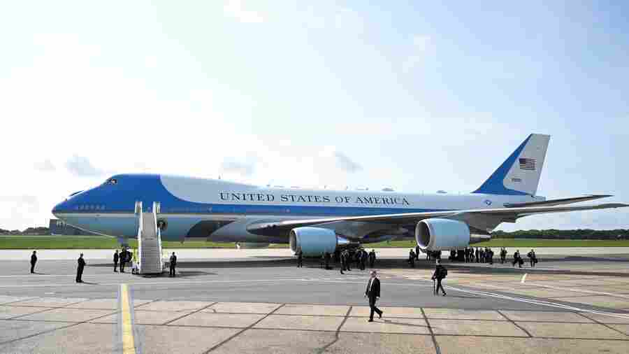 Trump's Designs For Revamped Air Force One May Not Take Off