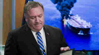 Pompeo Says 'There's No Doubt' Iran Attacked 2 Tankers
