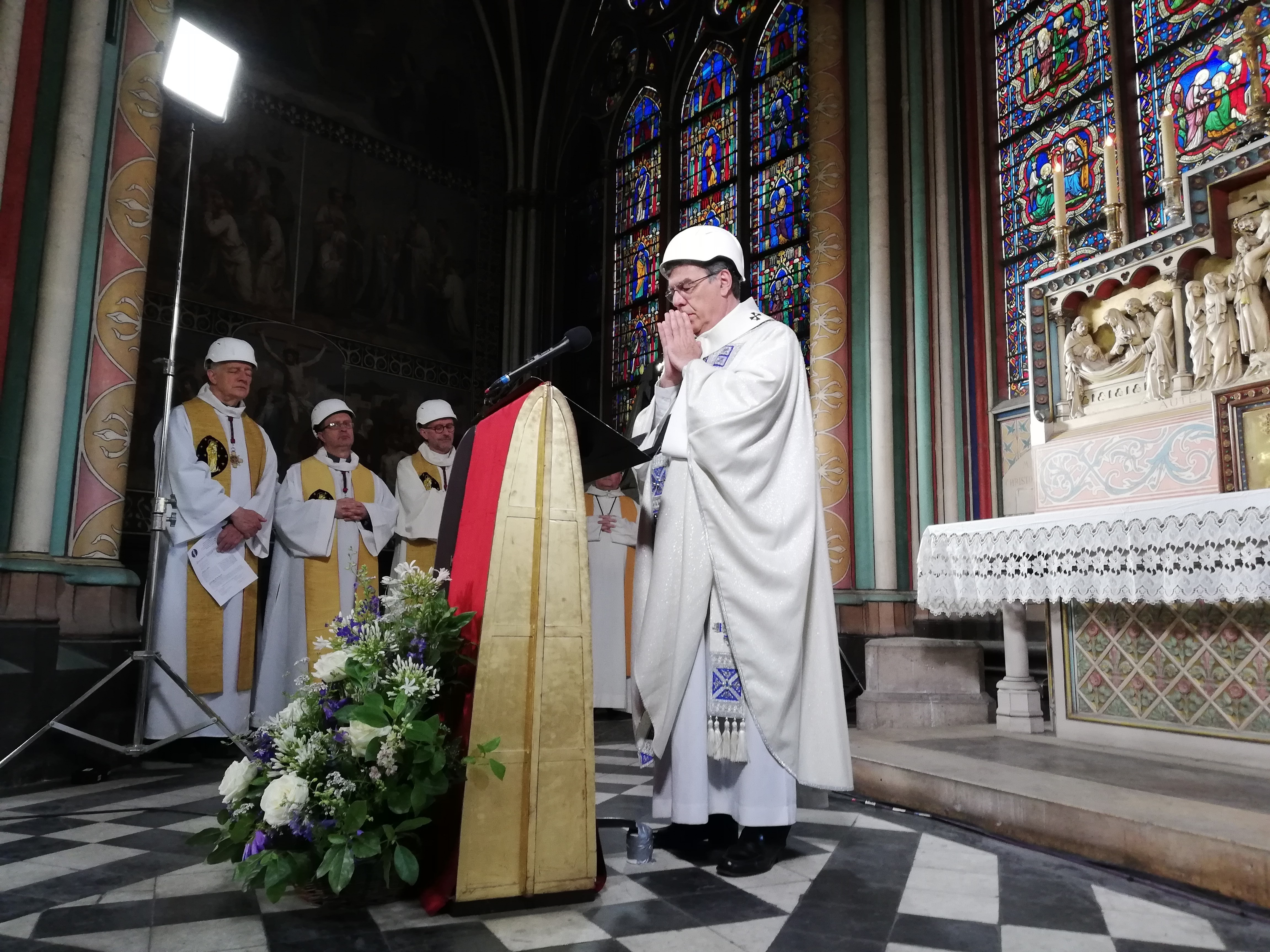 Notre Dame Holds 1st Mass Since Fire Devastated The Historic Paris Cathedral