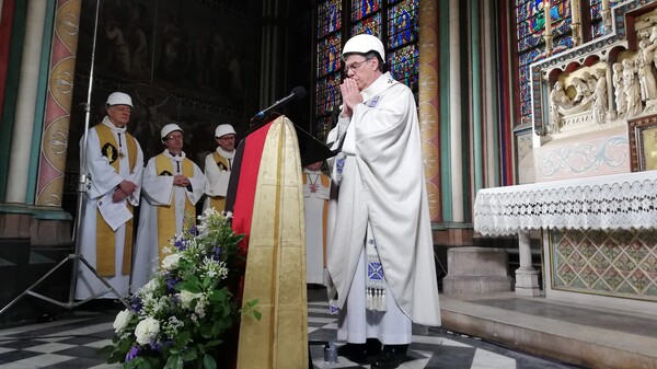 Notre Dame Celebrates 1st Mass Since Fire Devastated The Historic Paris Cathedral