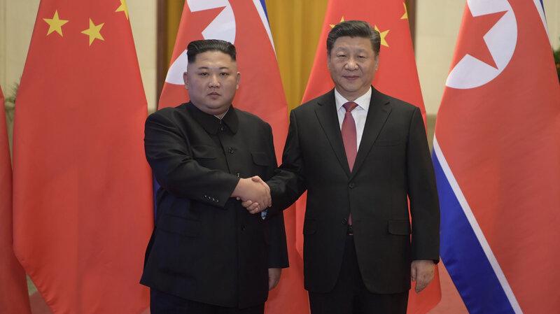 China's Leader To Meet Kim Jong Un In North Korea : NPR