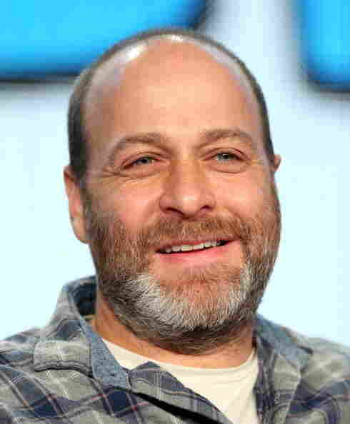 PASADENA, CA - JANUARY 14: Actor H. Jon Benjamin of the television show 'Archer' speaks onstage during the FX portion of the 2014 Television Critics Association Press Tour at the Langham Hotel on January 14, 2014 in Pasadena, California. (Photo by Frederick M. Brown/Getty Images)