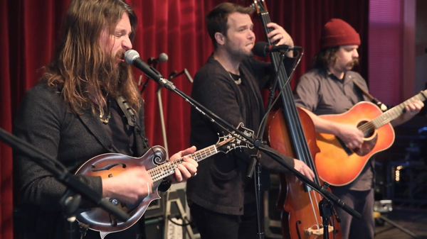 Greensky Bluegrass performs live for World Cafe