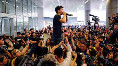 Hong Kong Activist Joshua Wong Is Freed, Says He'll Join Mass Protests