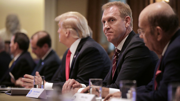 Acting Defense Secretary Patrick Shanahan is not moving forward with the confirmation process to take the job permanently, President Trump announced on Tuesday. (Chip Somodevilla/Getty Images)