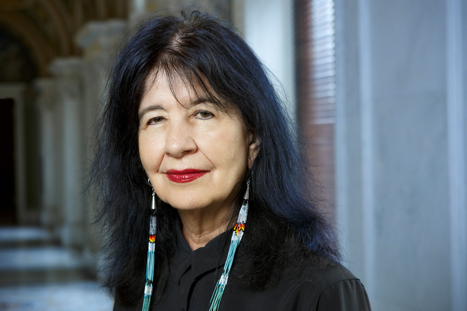 Joy Harjo will become the 23rd poet laureate of the United States, making her the first Native American to hold the position. (Shawn Miller/Library of Congress)