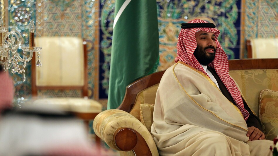 Saudi Crown Prince Mohammed bin Salman is seen in Algiers on Dec. 2, 2018 — exactly two months after Saudi journalist Jamal Khashoggi entered the Saudi Consulate in Istanbul and was never heard from again. (Billal Bensalem/NurPhoto via Getty Images)