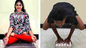 Teen Yogis Do Yoga On Nails And Eggs