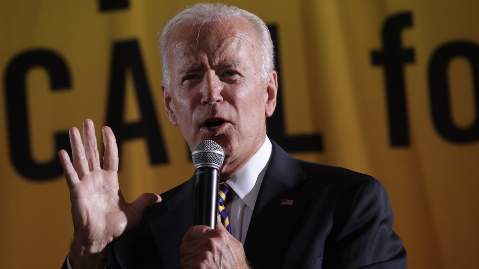 Former Vice President Joe Biden said fellow Democratic presidential candidate Sen. Cory Booker should apologize for suggesting he's insensitive to racial issues after recalling how he could put aside differences to work with segregationist lawmakers. (Alex Wong/Getty Images)