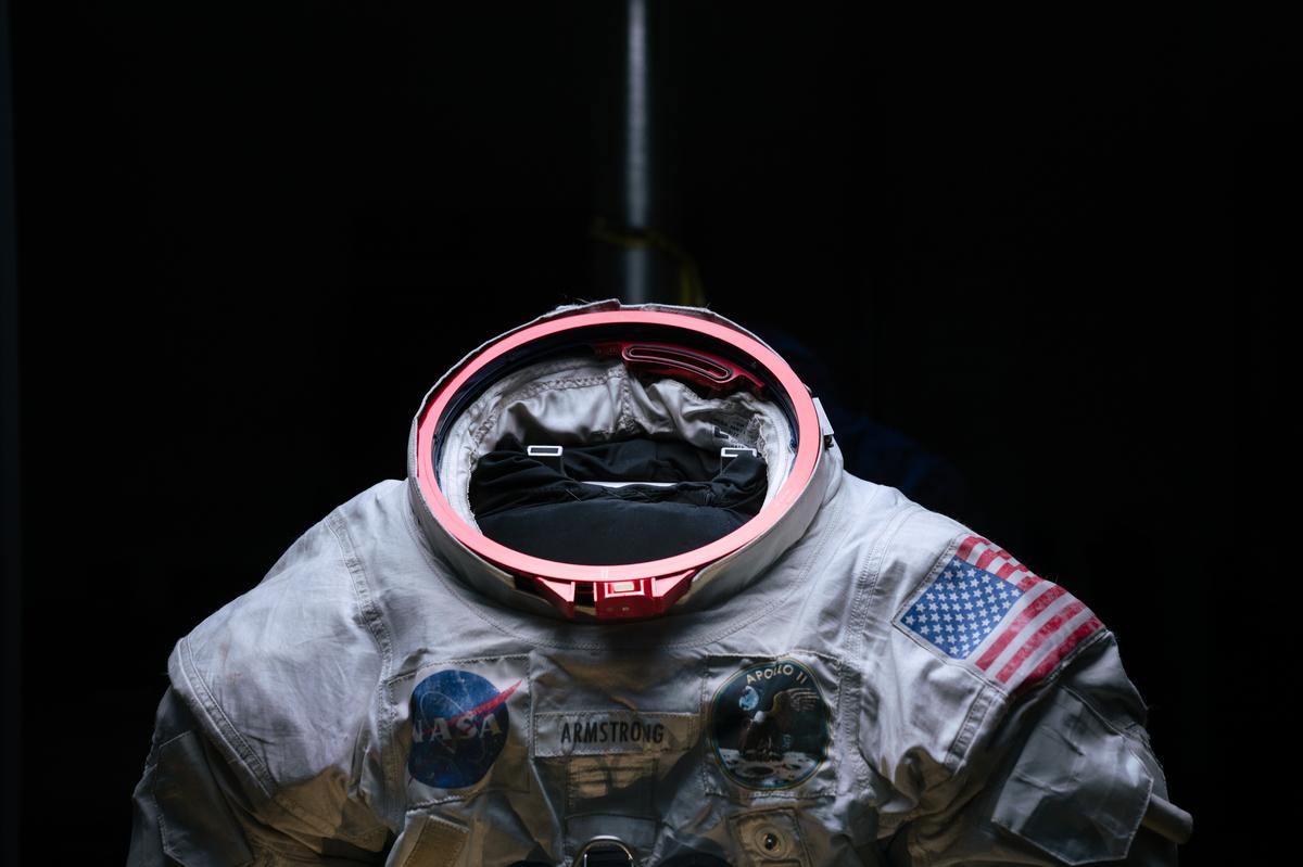 Preserving Neil Armstrong's Apollo 11 Spacesuit : NPR