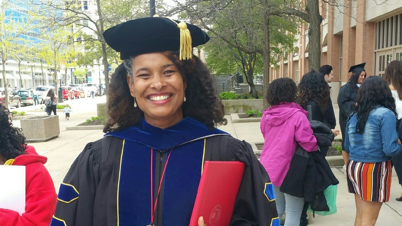 once teased for her name  marijuana pepsi turns her challenges into a ph d    npr