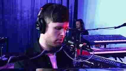 Watch James Blake Perform 'I'll Come Too' Live In Studio