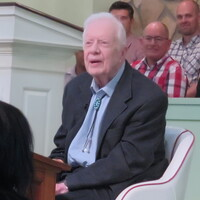 At Sunday School, Jimmy Carter Extends Praise To Trump For Restraint On Iran
